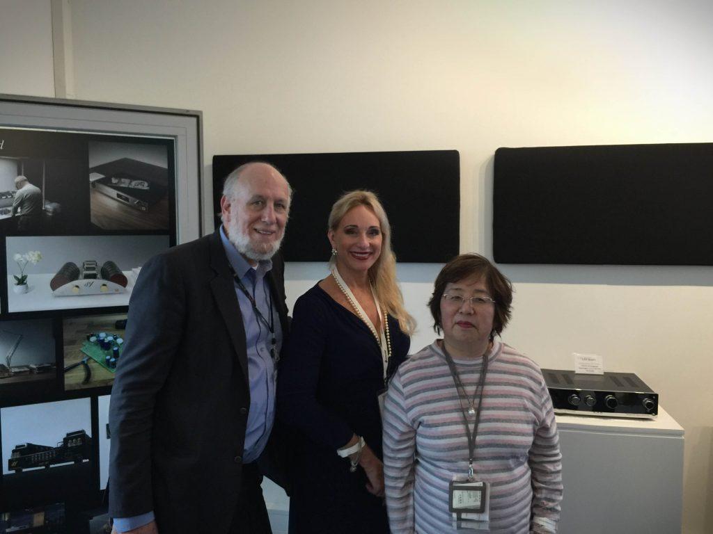 Tim de Paravicini, Lyn Stanley & Oliva